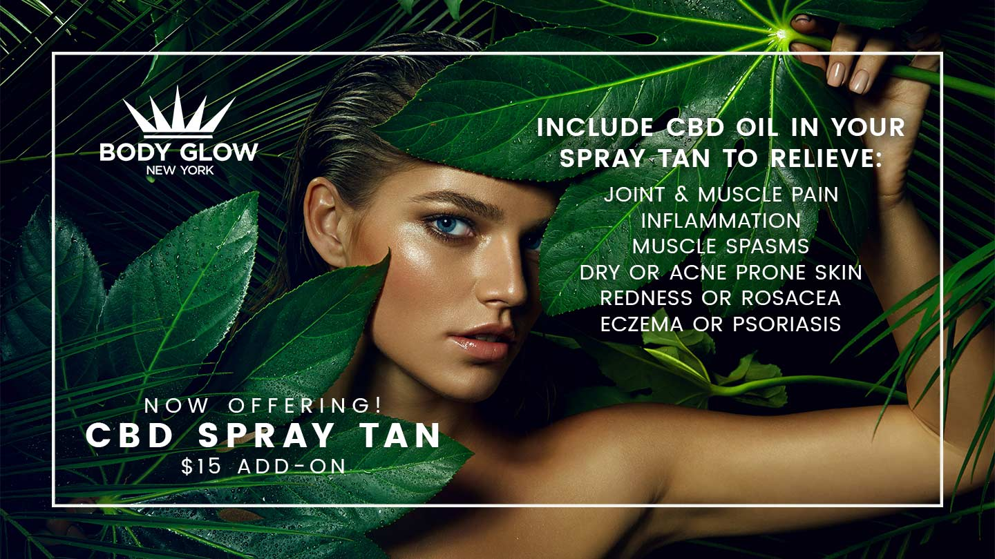 CBD Spray Tan